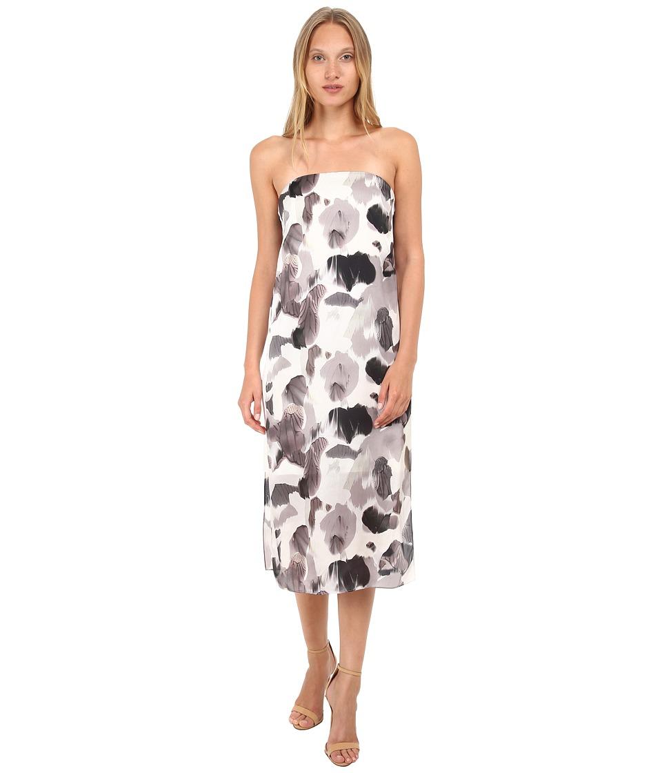 HELMUT LANG - Crypsis Dress (Black Multi) Women's Dress