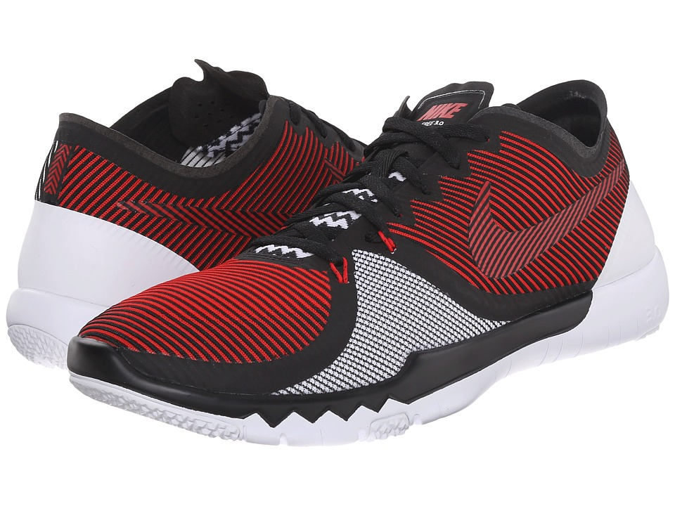 Nike - Free Trainer 3.0 V4 (University Red/Black/White) Men's Cross Training Shoes