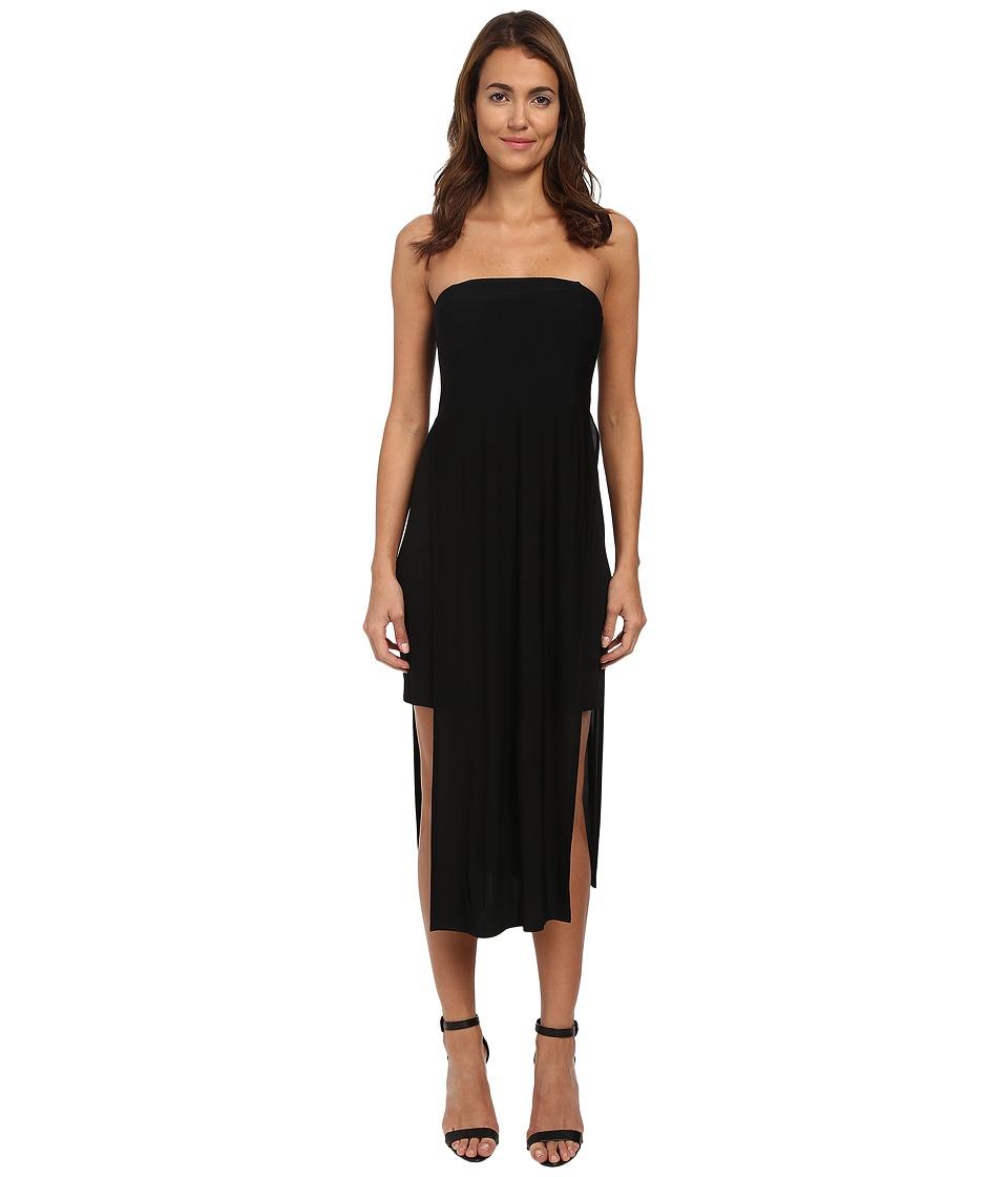 HELMUT LANG - Faint Silk Dress (Black) Women's Dress