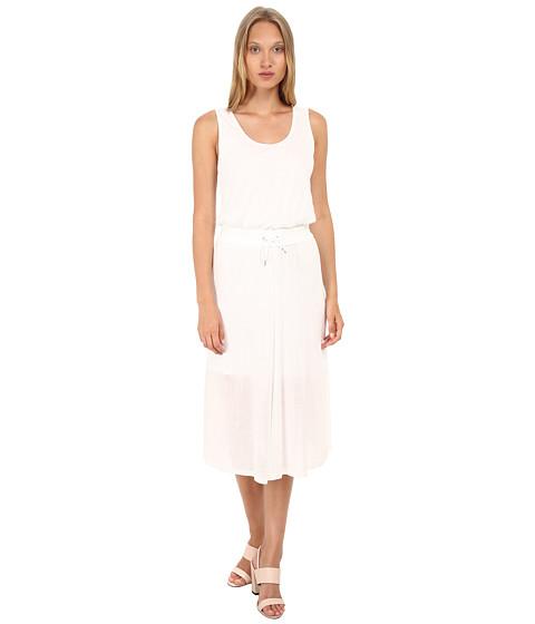 HELMUT LANG - Entity Jersey Dress (Optic White) Women's Dress