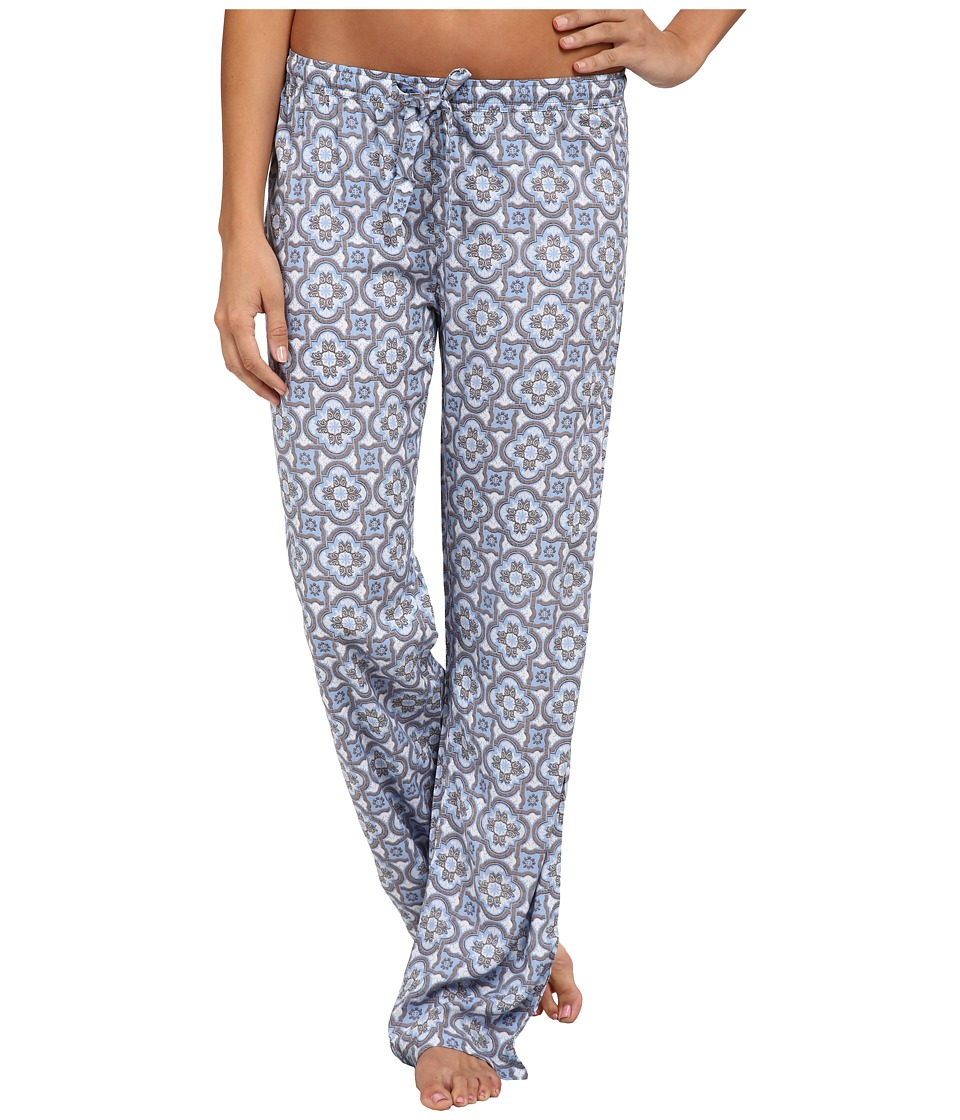 P.J. Salvage - Shades Medium Sleep Pants (Blue) Women