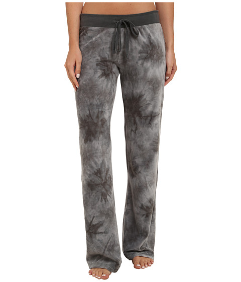 P.J. Salvage - Tie-Dye Sleep Pants (Grey) Women's Pajama