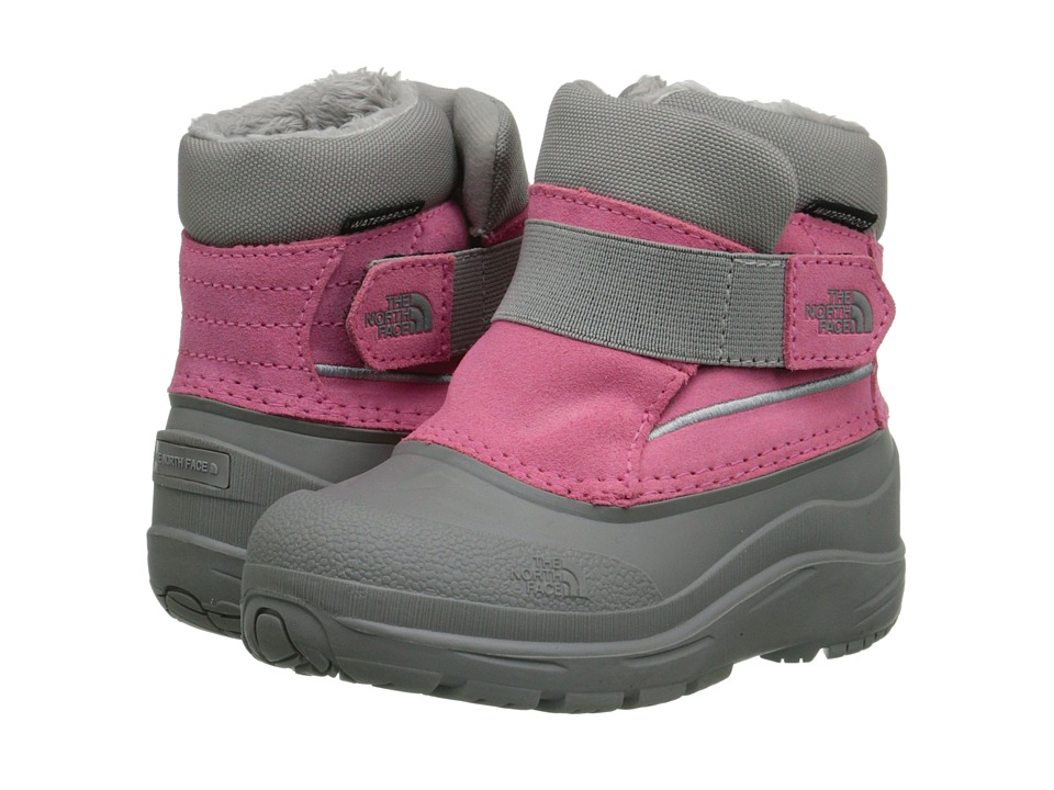 The North Face Kids - Alpenglow (Toddler) (Gem Pink/Foil Grey) Girls Shoes