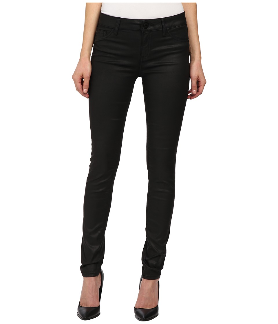 DL1961 - Florence Instasculpt in Nero Black Coated (Nero Black Coated) Women's Jeans