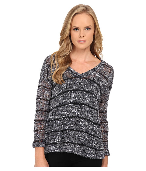 Splendid - V-Neck Tunic (Navy) Women