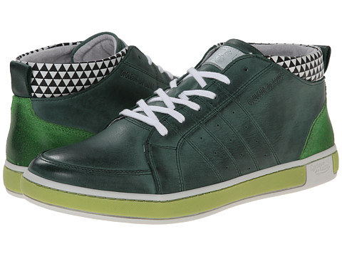 Cycleur de Luxe - San Sebastian Mid (Deep Grass Green/Lime Green) Men's Shoes