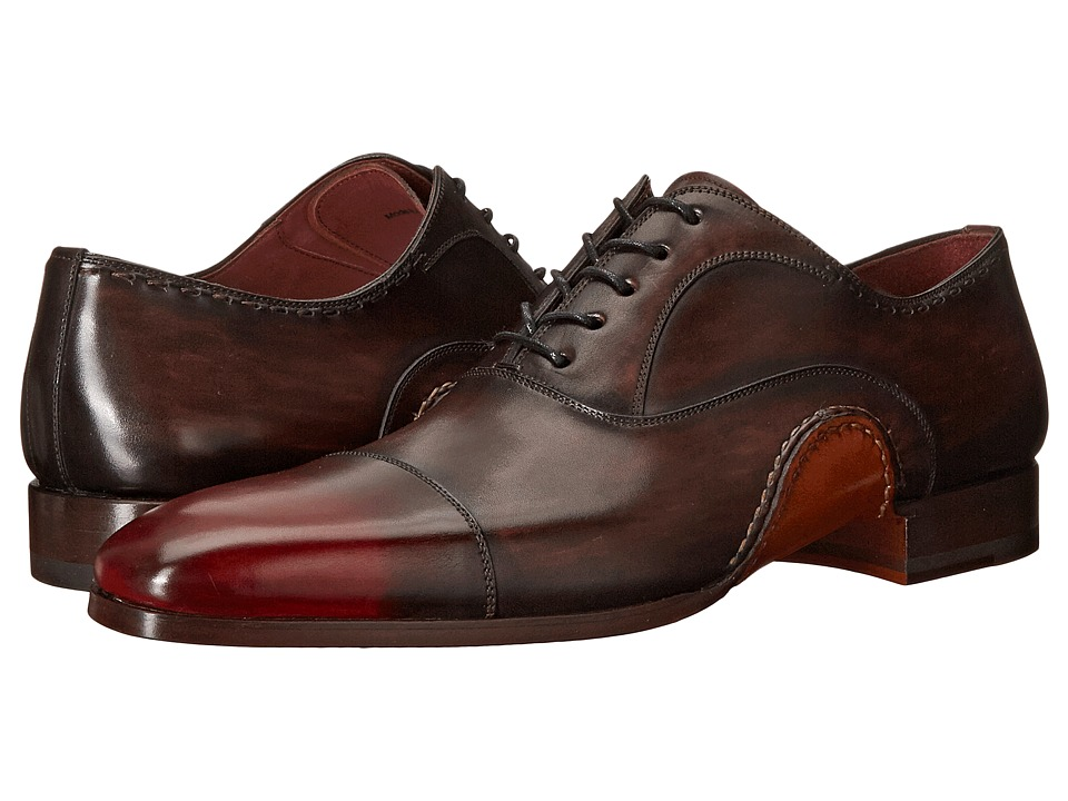 Magnanni - Axel (Brown) Men's Lace Up Cap Toe Shoes