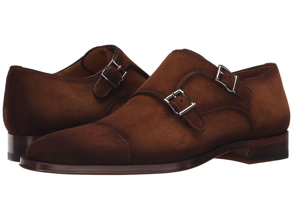 Magnanni - Benetiz (Cognac) Men's Monkstrap Shoes