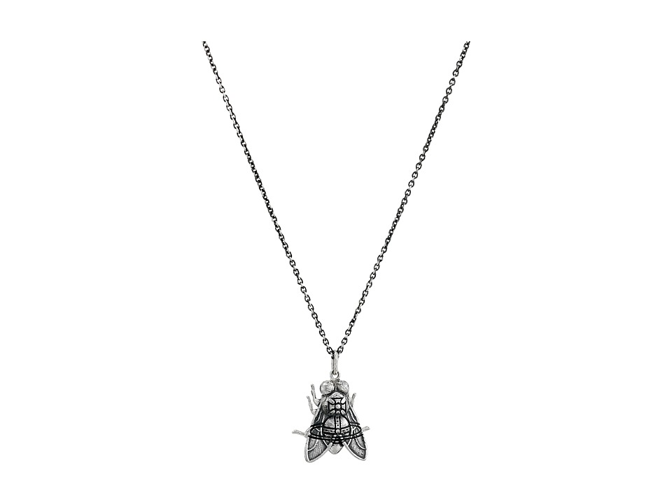 Vivienne Westwood - Fly Pendant Necklace (Silver) Necklace