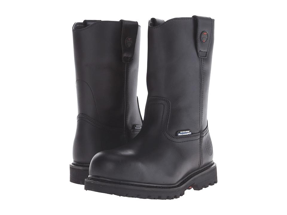 SKECHERS Work - Ruffneck (Black) Men's Boots