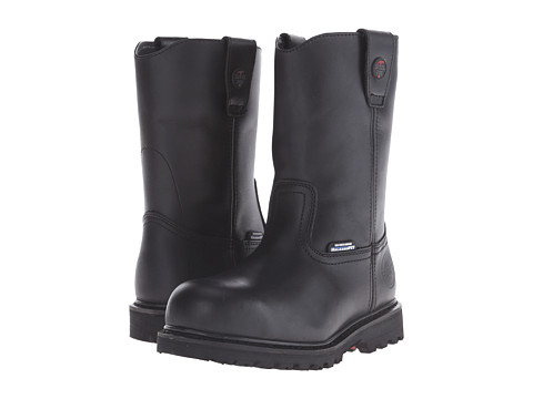SKECHERS Work - Ruffneck (Black) Men's Boots