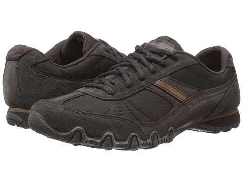 SKECHERS - Bikers - Abroad (Chocolate) Women