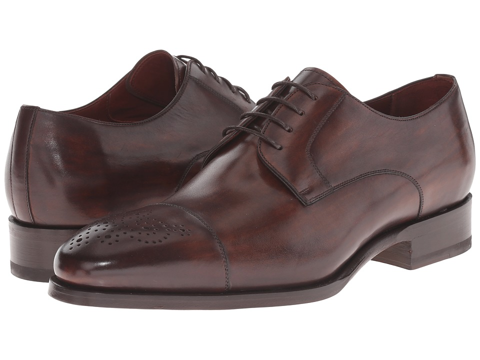 Magnanni - Lalin (Tabaco) Men's Lace Up Cap Toe Shoes
