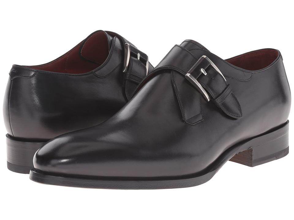 Magnanni - Lamar (Black) Men's Slip-on Dress Shoes