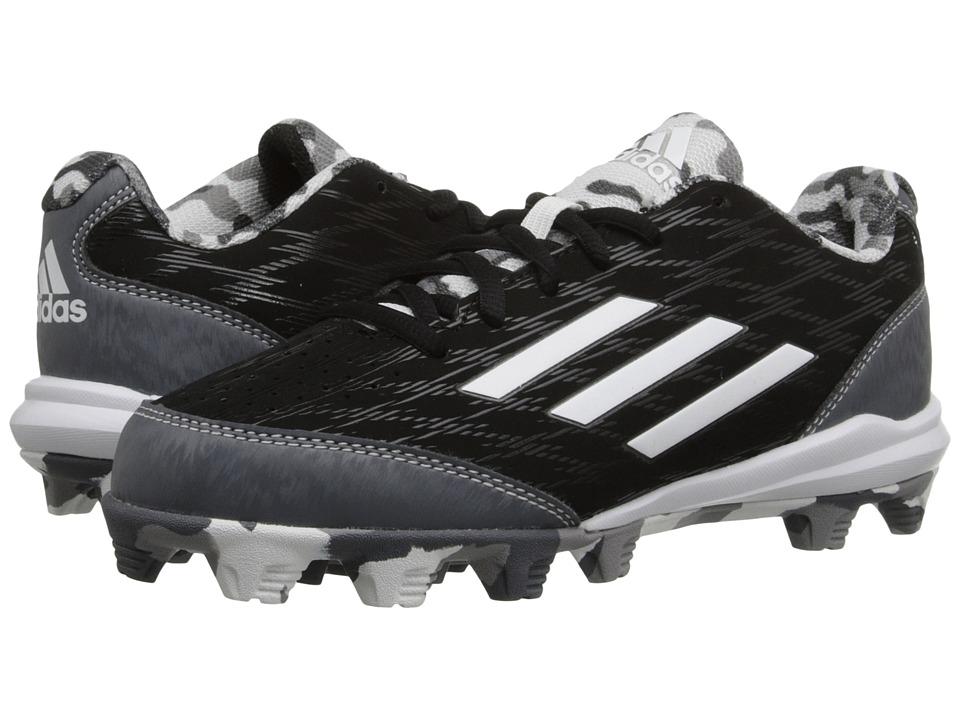 adidas Kids - Wheelhouse 3 Baseball (Toddler/Little Kid/Big Kid) (Core Black/Carbon Metallic/Onix) Boys Shoes