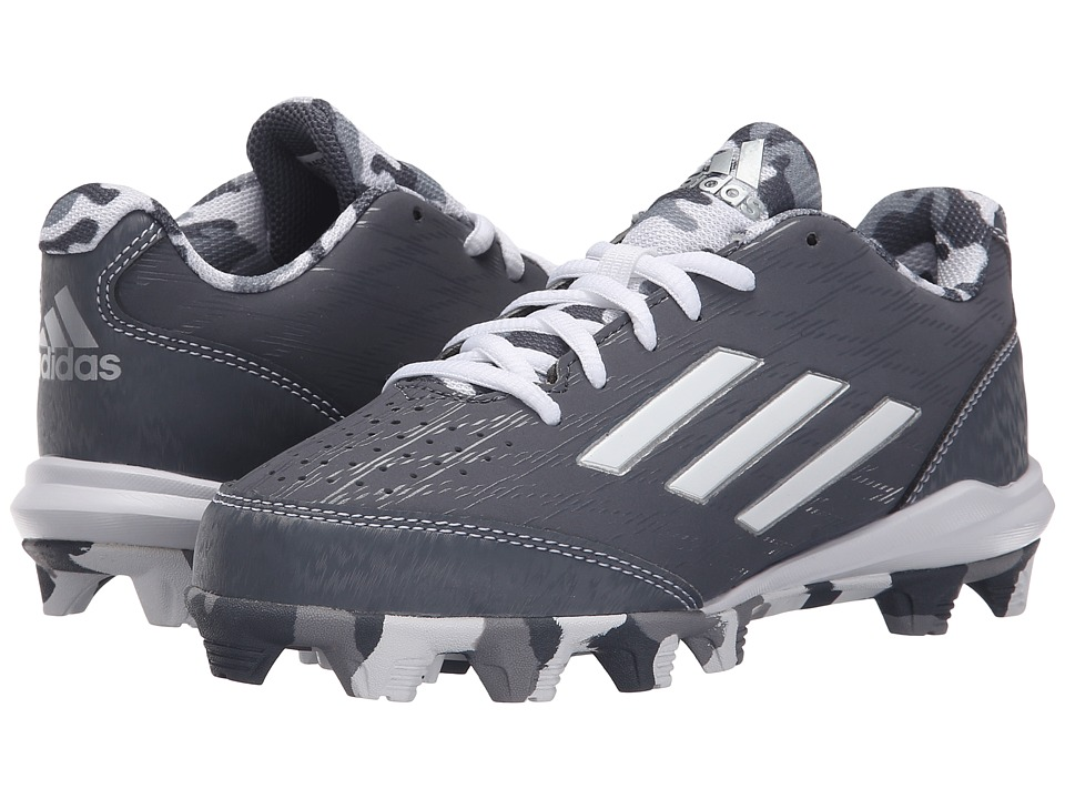 adidas Kids - Wheelhouse 3 Baseball (Toddler/Little Kid/Big Kid) (Onix/White/Silver Metallic) Boys Shoes