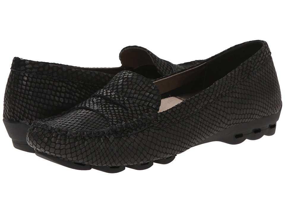 Easy Spirit - Fabiana (Black Reptile) Women