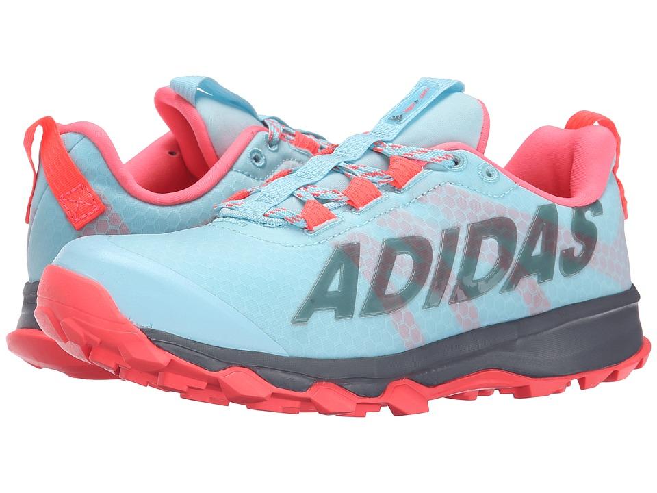 adidas Kids - Vigor 6 TR K (Little Kid/Big Kid) (Frozen Blue/Flash Red/Vista Grey) Girls Shoes