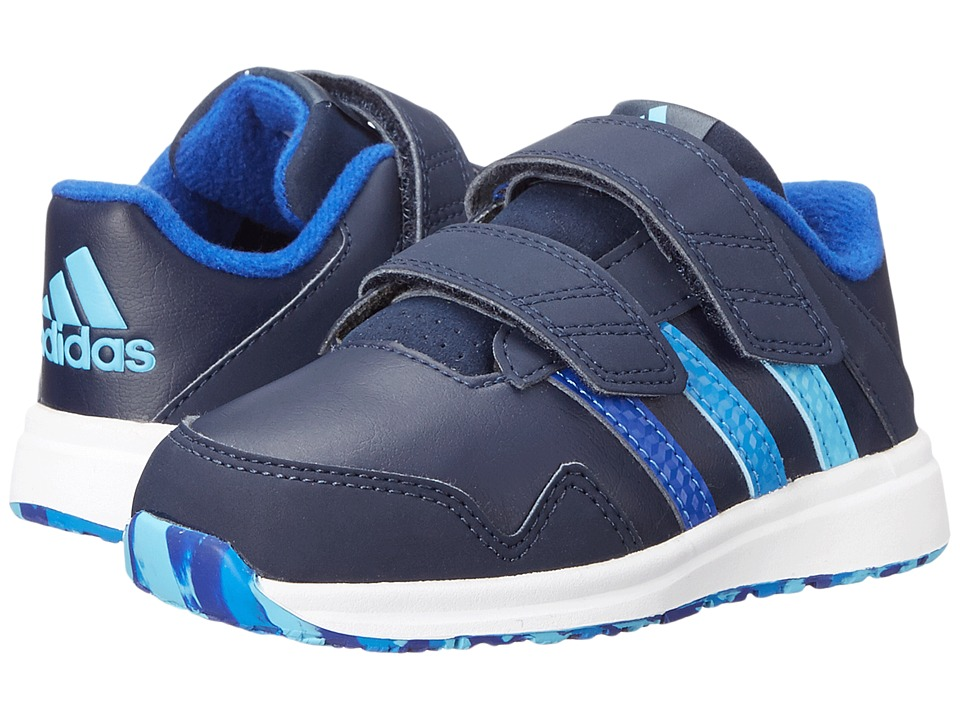 adidas Kids - Snice 4 CF (Toddler) (Collegiate Navy/Bold Blue/Super Blue) Boys Shoes