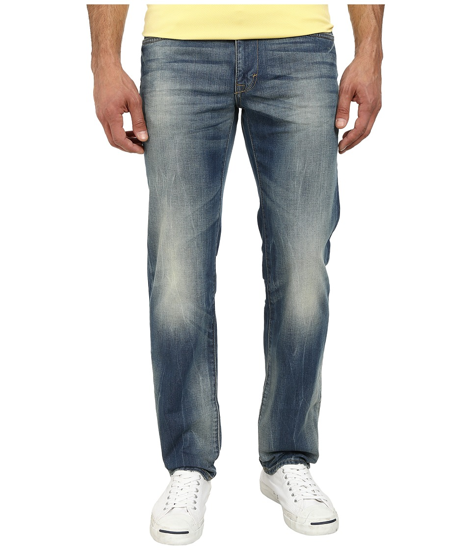 DKNY Jeans - Bleecker Jeans in Orion Light Indigo Wash (Orion Light Indigo Wash) Men