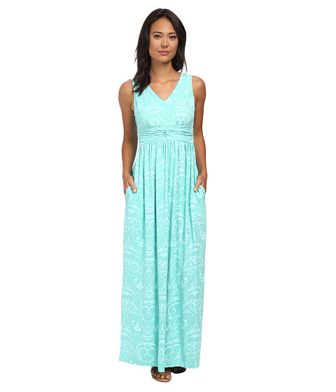 Fresh Produce - Riviera Veranda Maxi Dress (Palm) Women's Dress