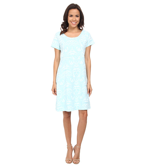 Fresh Produce - Riviera Jersey Sadie Dress (Swimming Pool) Women