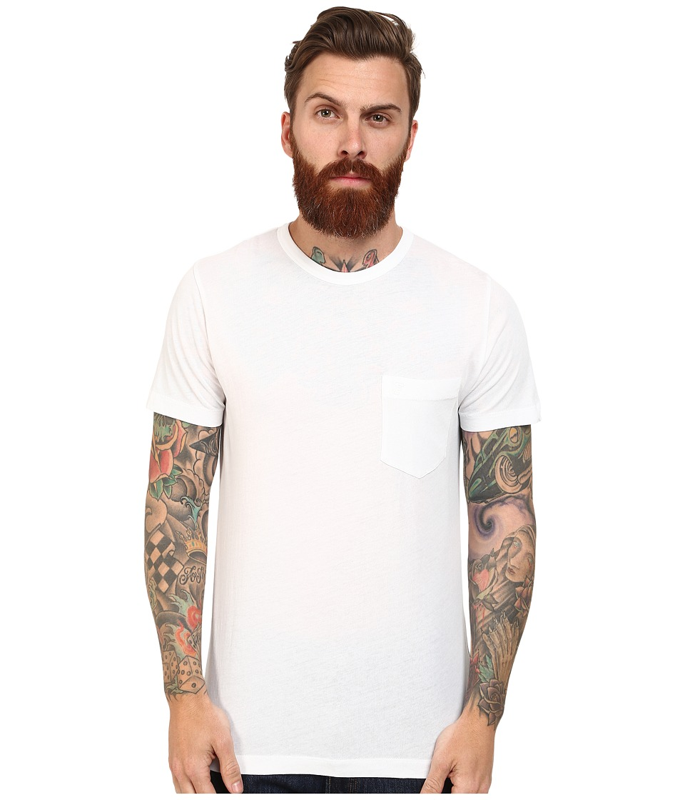 French Connection - Loose Knit Jersey Tee (White) Men's T Shirt