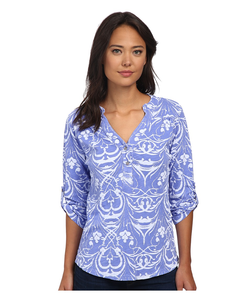 Fresh Produce - Riviera Dockside Henley (Peri Blue) Women