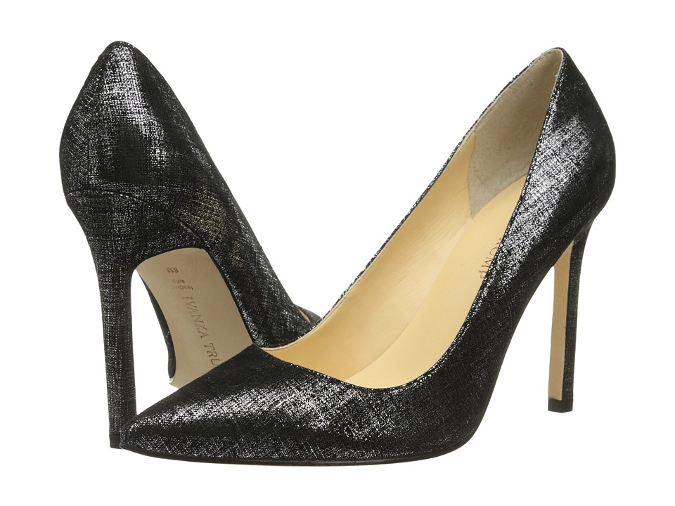 Ivanka Trump Carra (Black/Silver) High Heels