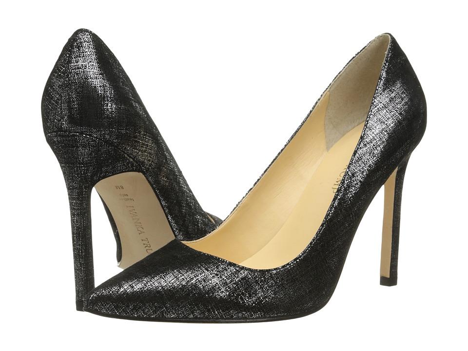 Ivanka Trump Carra (Black/Silver) High Heels