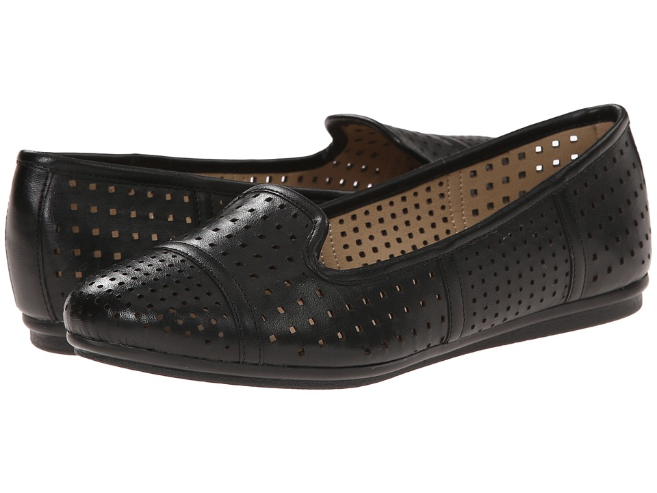 Easy Spirit - Gracen (Black Multi Leather) Women's Shoes