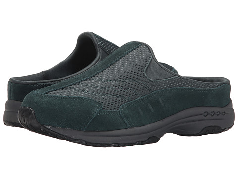 Easy Spirit - Traveltime (Dark Green/Dark Green Suede) Women