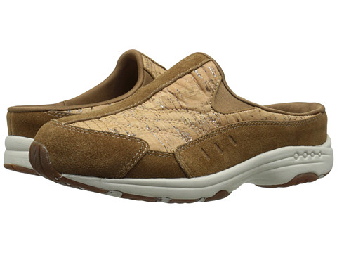 Easy Spirit - Traveltime (Med Natural/Natural Suede) Women's Clog Shoes