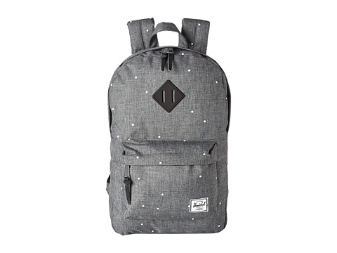Herschel Supply Co. - Heritage Mid-Volume (Scattered Charcoal) Backpack Bags