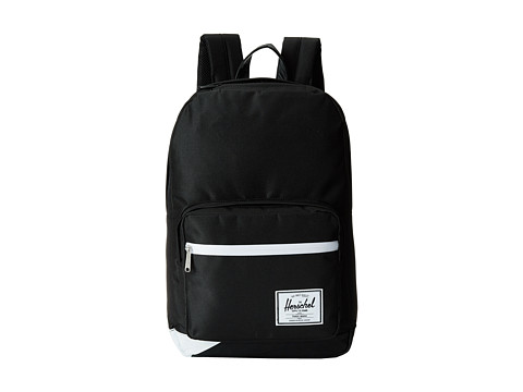Herschel Supply Co. - Pop Quiz (Black Pu/White) Backpack Bags