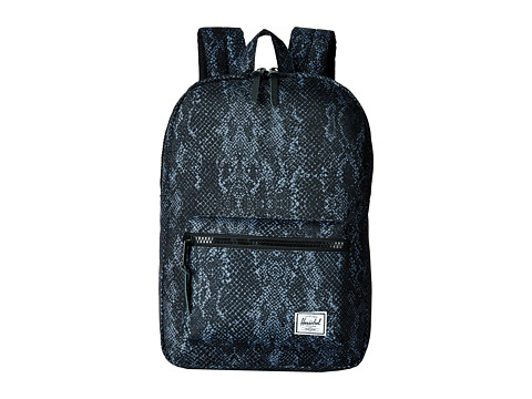 Herschel Supply Co. - Settlement Mid-Volume (Black Snake) Backpack Bags