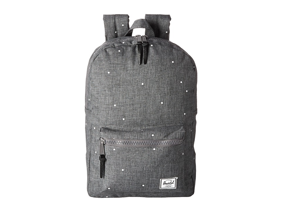 Herschel Supply Co. - Settlement Mid-Volume (Scattered Charcoal) Backpack Bags