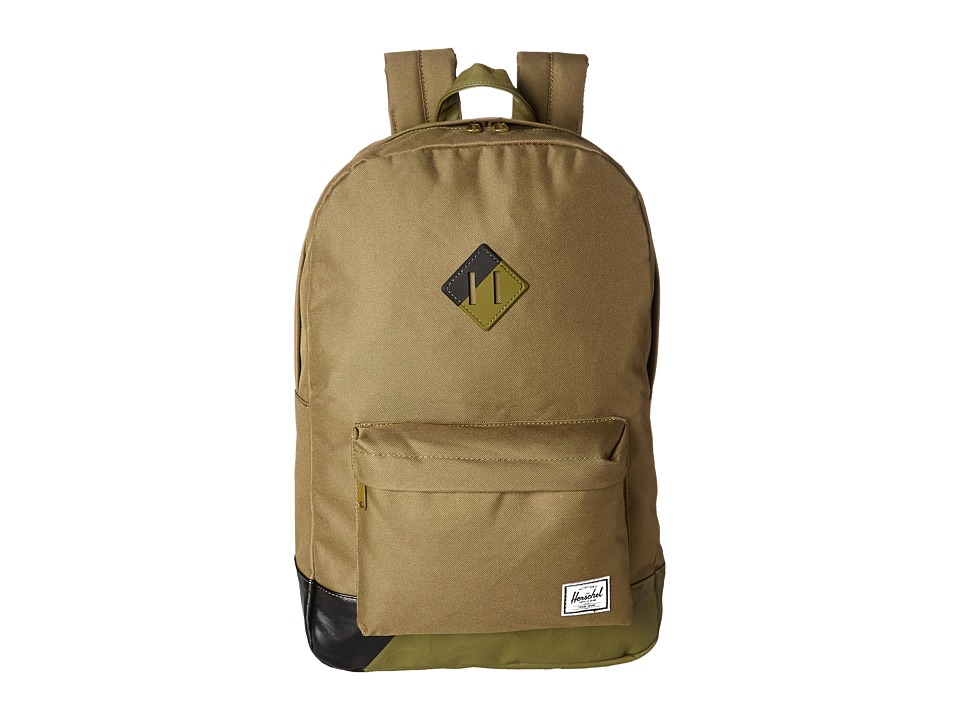 Herschel Supply Co. - Heritage (Army Pu/Black) Backpack Bags