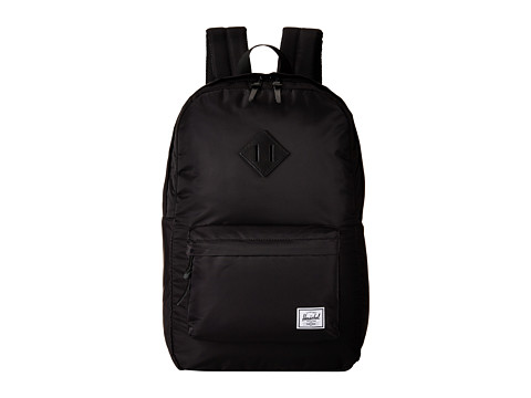 Herschel Supply Co. - Heritage (Nylon Black) Backpack Bags