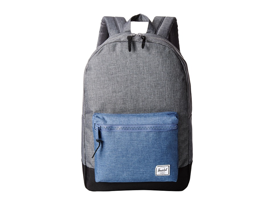 Herschel Supply Co. - Settlement (Crosshatch Charcoal/Navy) Backpack Bags