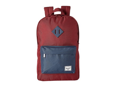 Herschel Supply Co. - Heritage Mid-Volume (Wine/Navy) Backpack Bags