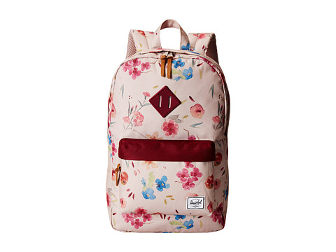 Herschel Supply Co. - Heritage Mid-Volume (Ruby Khaki) Backpack Bags
