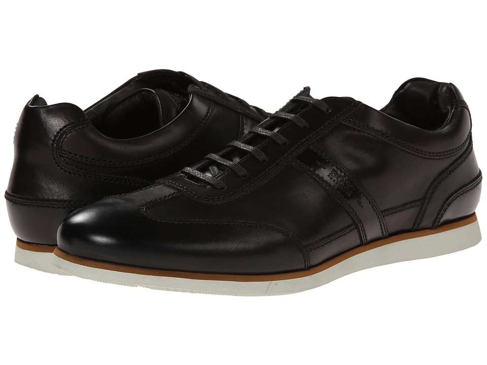 BOSS Hugo Boss - T-Leisander by BOSS Black (Dark Brown) Men's Slip on Shoes