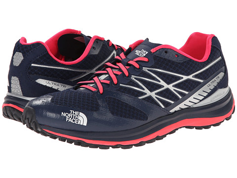 The North Face - Ultra Trail (Cosmic Blue/Rocket Red 1) Women's Running Shoes