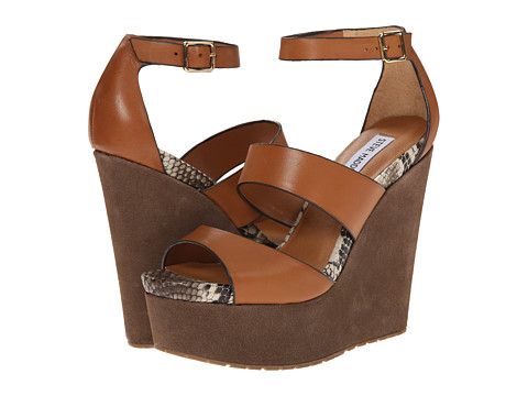 Steve Madden - Calvi (Cognac Multi) Women's Wedge Shoes