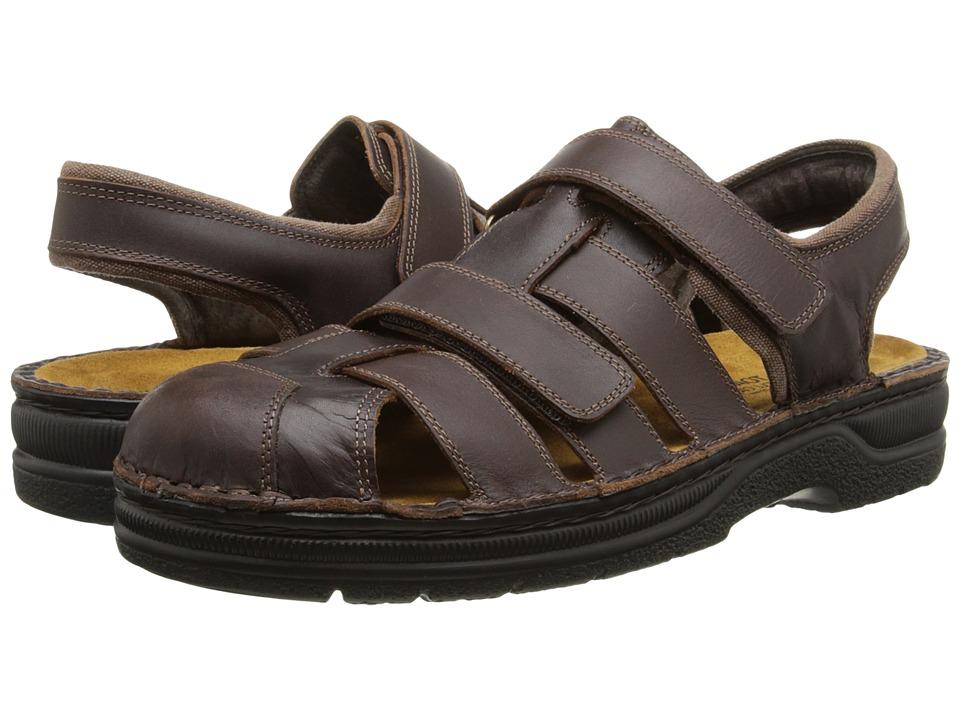 Naot Footwear - Bradley (Buffalo Leather) Men's Dress Sandals
