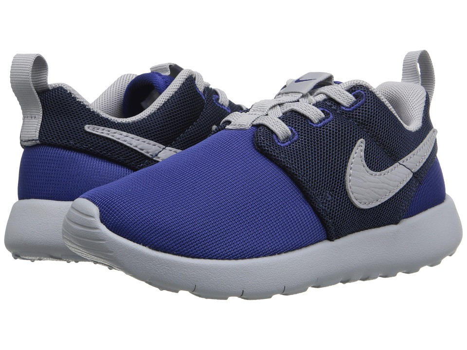 Nike Kids - Roshe One (Infant/Toddler) (Deep Royal Blue/Wolf Grey/Midnight Navy) Boys Shoes
