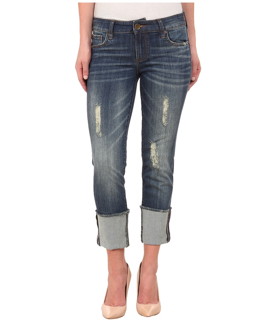 KUT from the Kloth - Cameron Straight Leg Boyfriend Jeans in Audacity (Audacity) Women's Jeans