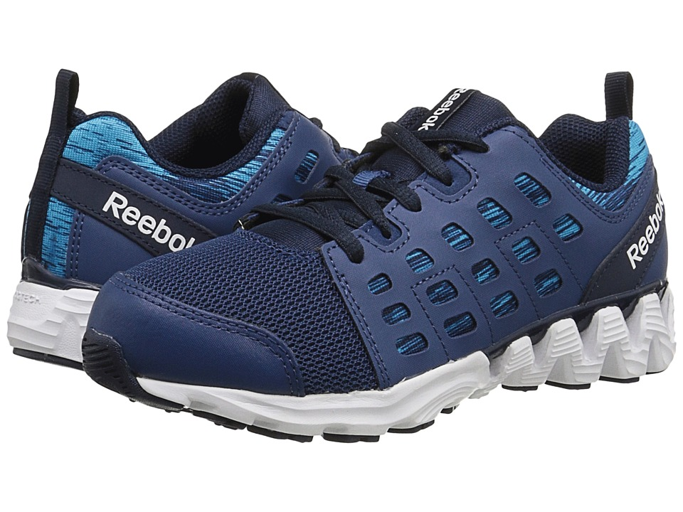 Reebok Kids - ZigKick Racer (Little Kid) (Faux Indigo/Batik Blue/Far Out Blue/White) Boys Shoes