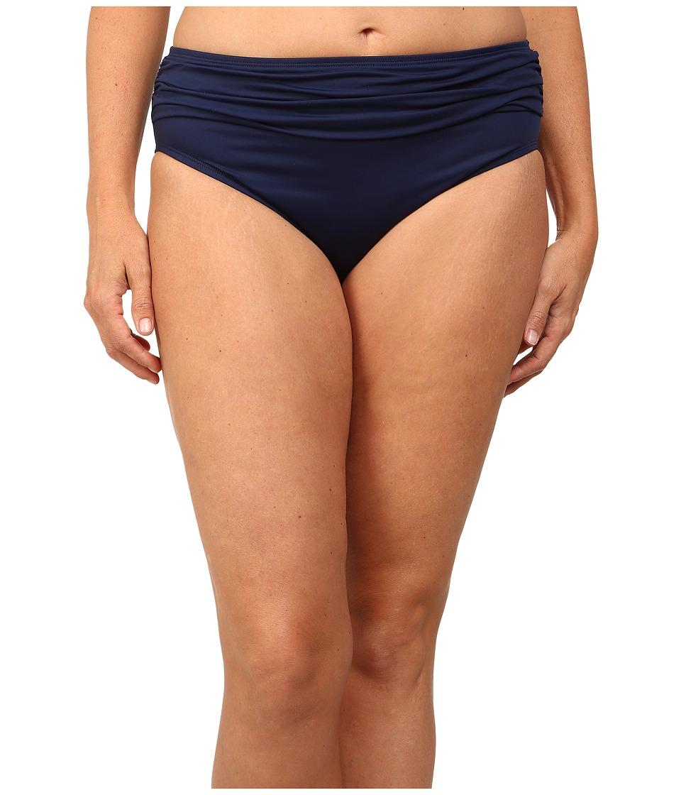Tommy Bahama - Plus Size High Waist Sash Pants (Mare) Women's Swimwear